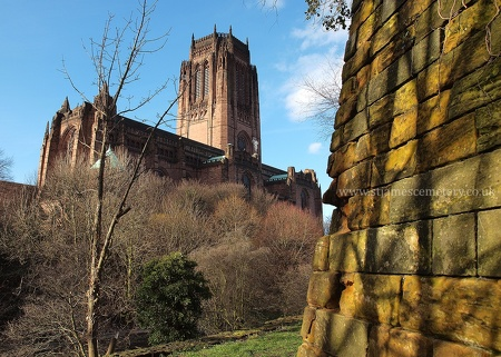 Liverpool Cathedral & East Wall, 2014