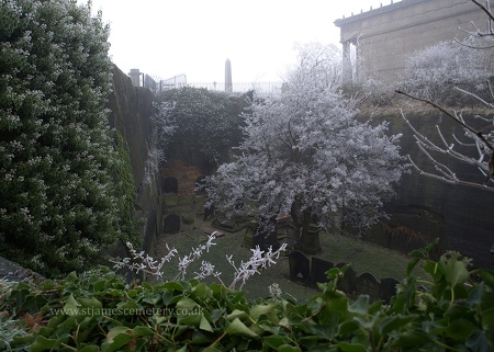 St James' Gardens, Winter 2010