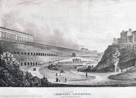 St James' Cemetery, c.1830