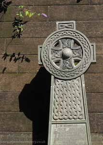 Celtic Cross with IHS